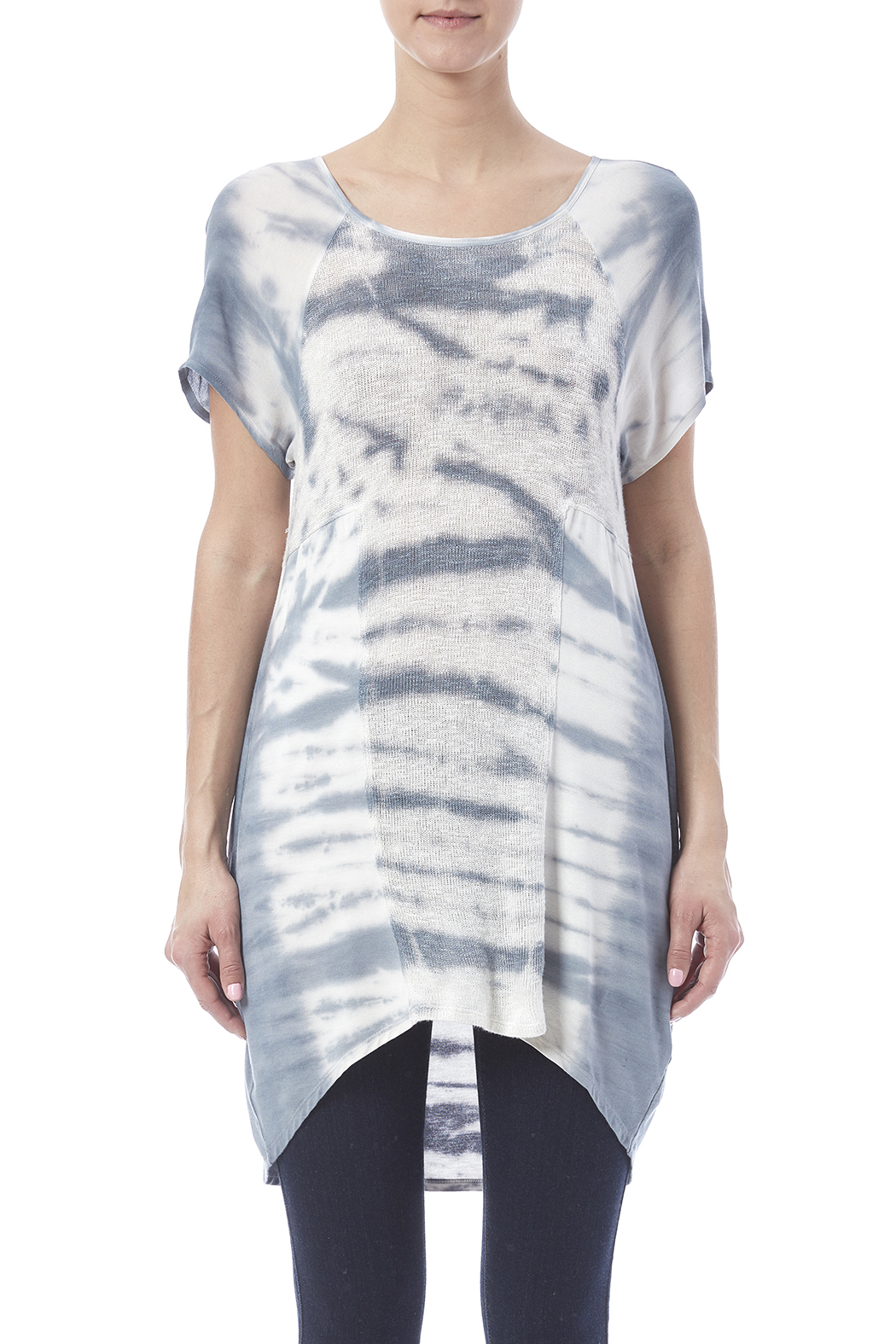 Lolly Tie Dye Tunic - Side Cropped Image