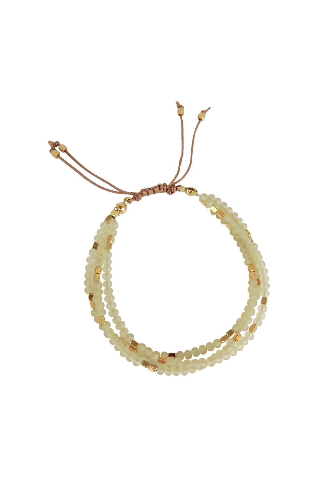 Lolly Ella Anevy Ivory Bracelet - Front Cropped Image