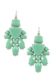 Lolly Ella Aqua Burst Earrings - Product Mini Image