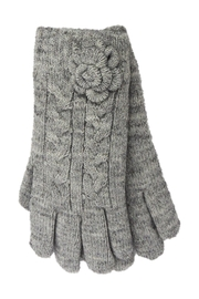 Lolly Ella Bloom Grey Gloves - Product Mini Image