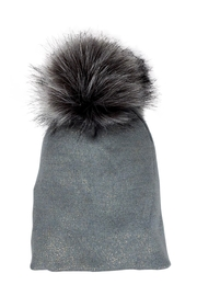 Lolly Ella Chelsea Grey Pom-Hat - Product Mini Image