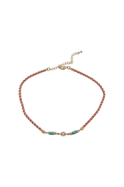 Lolly Ella Elin Coral Choker - Product Mini Image