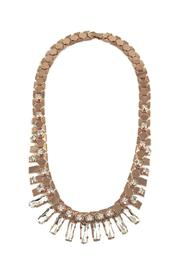 Lolly Ella Gold Reptilian Crystals Necklace - Product Mini Image