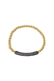 Lolly Ella Gunmetal Gold Pave' - Product Mini Image