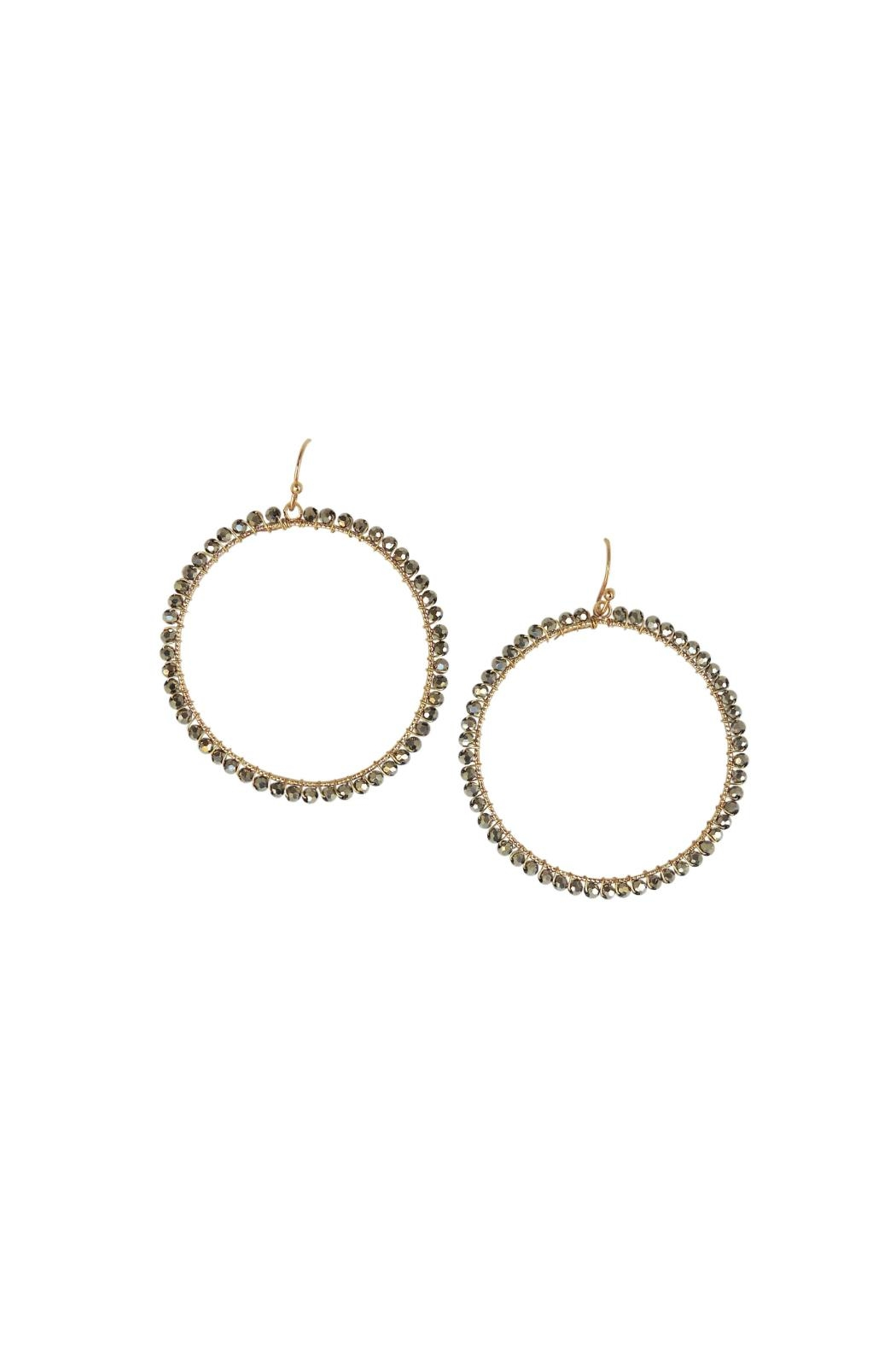 Lolly Ella Izola Earrings - Front Cropped Image