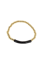 Lolly Ella Jet Gold Pave' - Front cropped