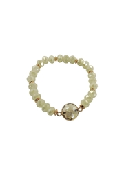 Lolly Ella Kinsey Cream Bracelet - Product Mini Image