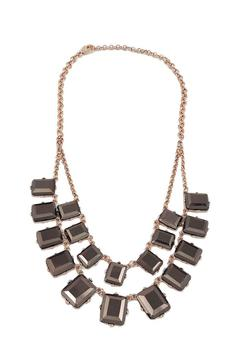 Lolly Ella Metallic Bronze Gems Necklace - Product List Image