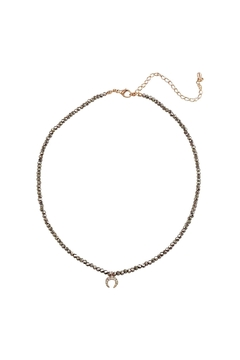 Shoptiques Product: Metallic Crescent Choker