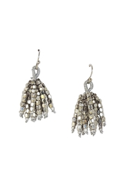 Lolly Ella Silver Nugget Tassels - Front cropped