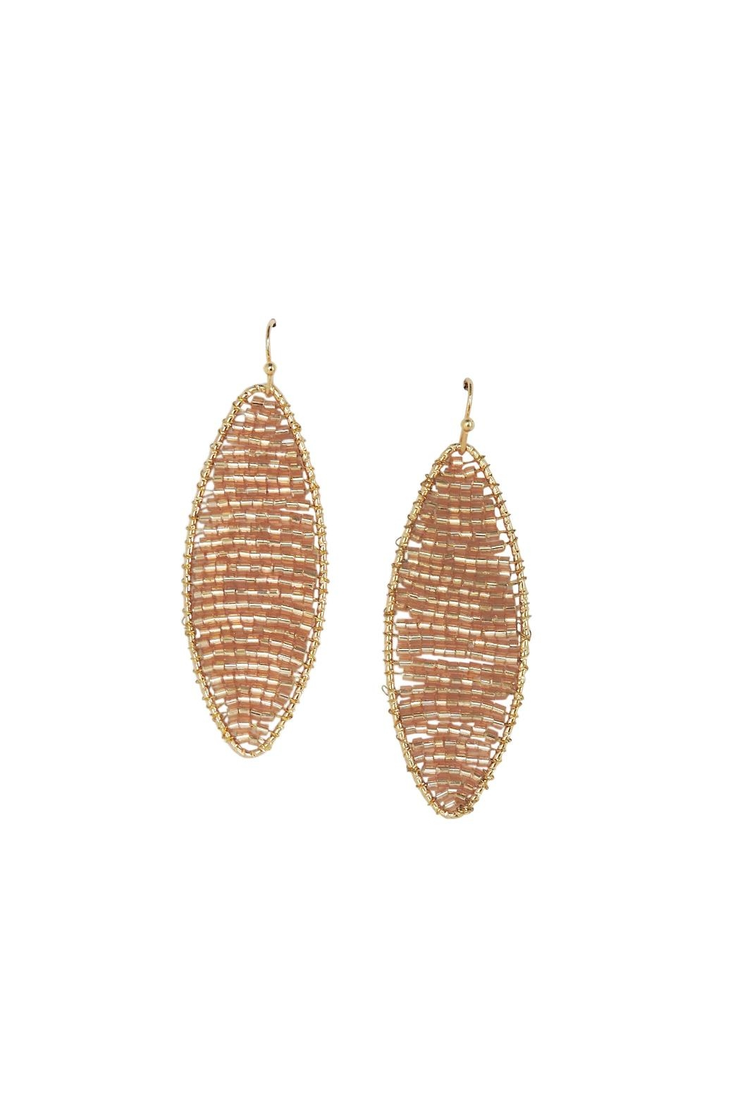 Lolly Ella Simone Champagne Earrings - Main Image