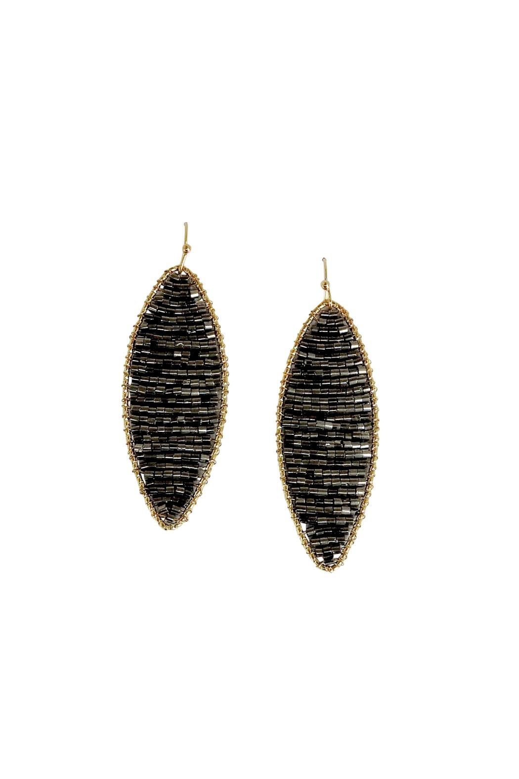 disc amrita shop earrings gunmetal product erc singh jewelry