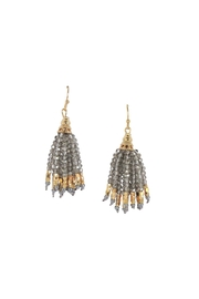 Lolly Ella Tala Grey Earrings - Front cropped