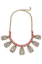 Lolly Ella Wanderlust Coral Necklace - Product Mini Image