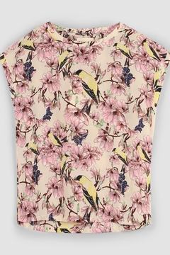 LOLLYS LAUNDRY Birds & Flowers Top - Product List Image