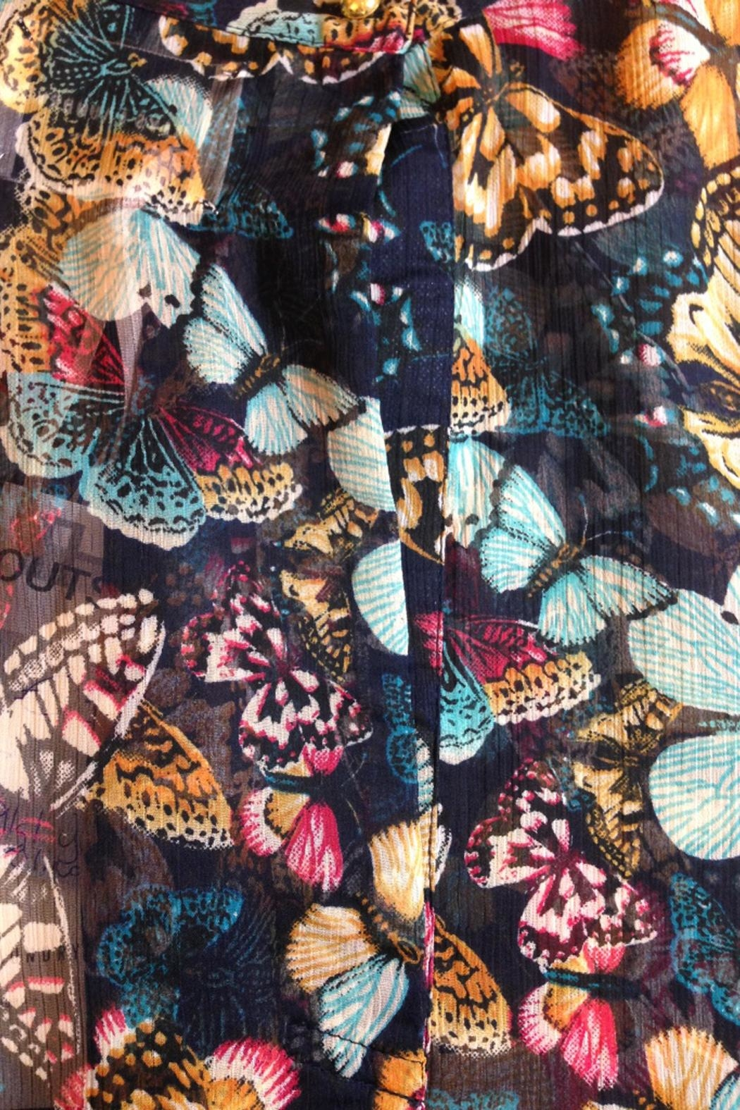 LOLLYS LAUNDRY Butterfly Top - Side Cropped Image
