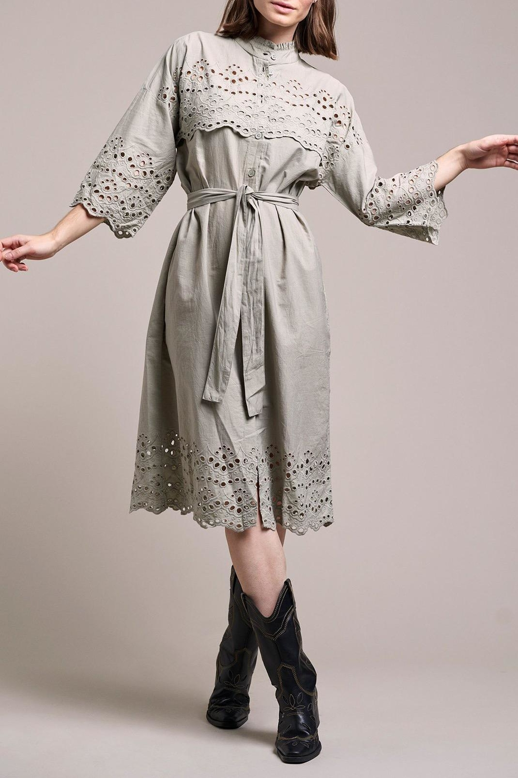 LOLLYS LAUNDRY Embroidered Dress - Main Image