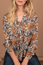 LOLLYS LAUNDRY Flowerish Blouse - Front cropped