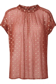 LOLLYS LAUNDRY Golden Dot Top - Front cropped