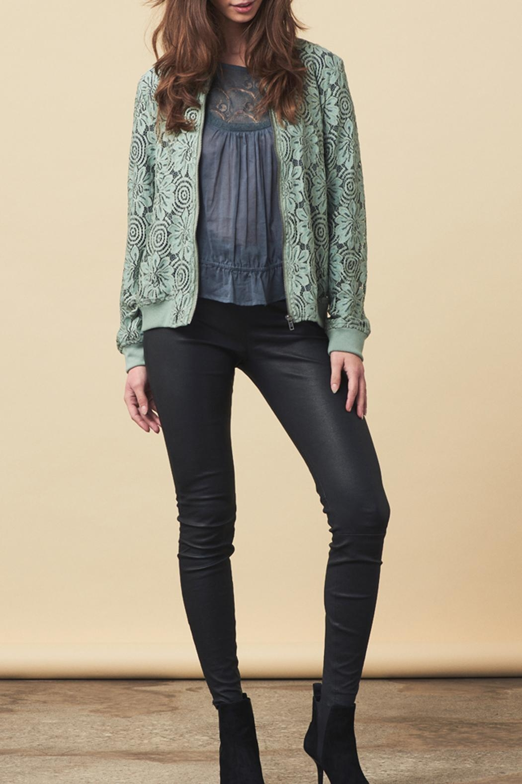 LOLLYS LAUNDRY Lace Covered Jacket - Main Image