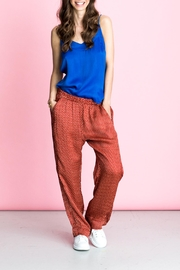 LOLLYS LAUNDRY Red Brick Pants - Product Mini Image