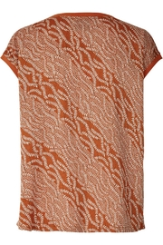 LOLLYS LAUNDRY Rust Colored Top - Front full body