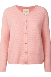 LOLLYS LAUNDRY Soft Pink Cardigan - Front full body