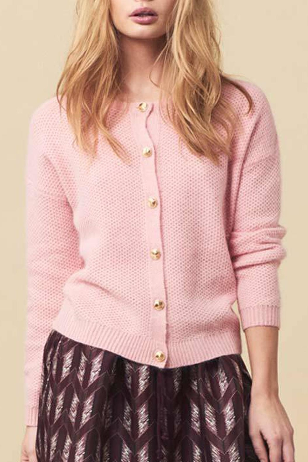 LOLLYS LAUNDRY Soft Pink Cardigan - Main Image