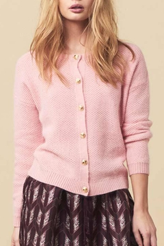 LOLLYS LAUNDRY Soft Pink Cardigan - Product List Image