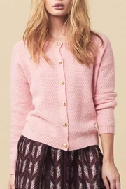 LOLLYS LAUNDRY Soft Pink Cardigan - Front cropped