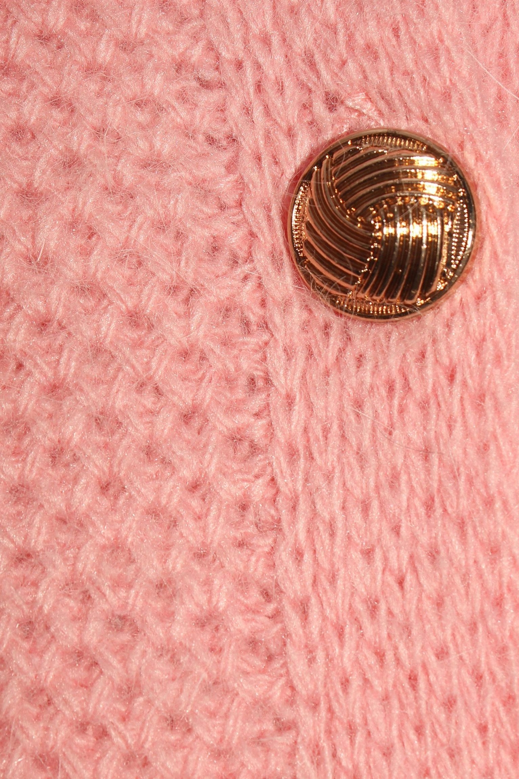 LOLLYS LAUNDRY Soft Pink Cardigan - Side Cropped Image