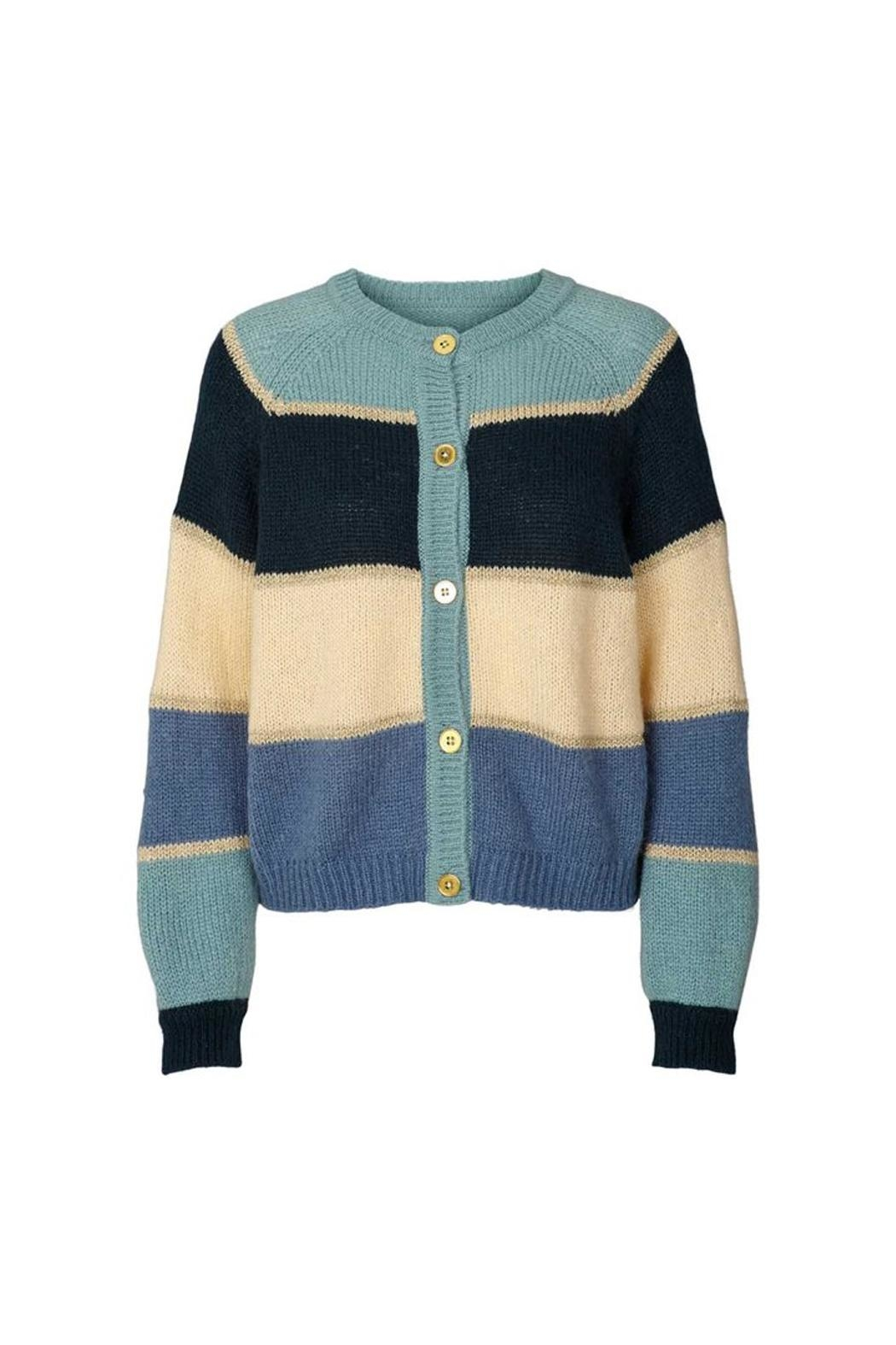 LOLLYS LAUNDRY Soft Retro-Look Cardigan - Front Cropped Image