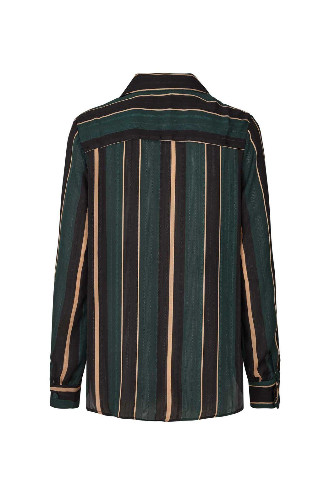 LOLLYS LAUNDRY Striped Blouse/blazer - Front Full Image
