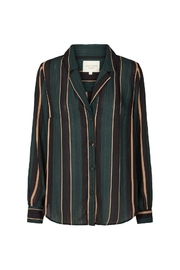 LOLLYS LAUNDRY Striped Blouse/blazer - Front cropped