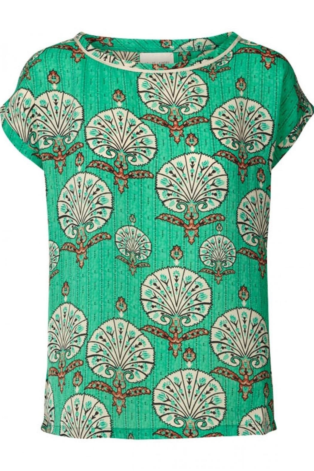 LOLLYS LAUNDRY Stunning Green Top - Main Image