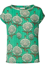 LOLLYS LAUNDRY Stunning Green Top - Front cropped