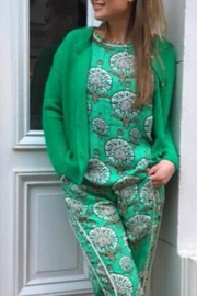 LOLLYS LAUNDRY Stunning Green Top - Side cropped
