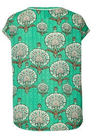 LOLLYS LAUNDRY Stunning Green Top - Front full body