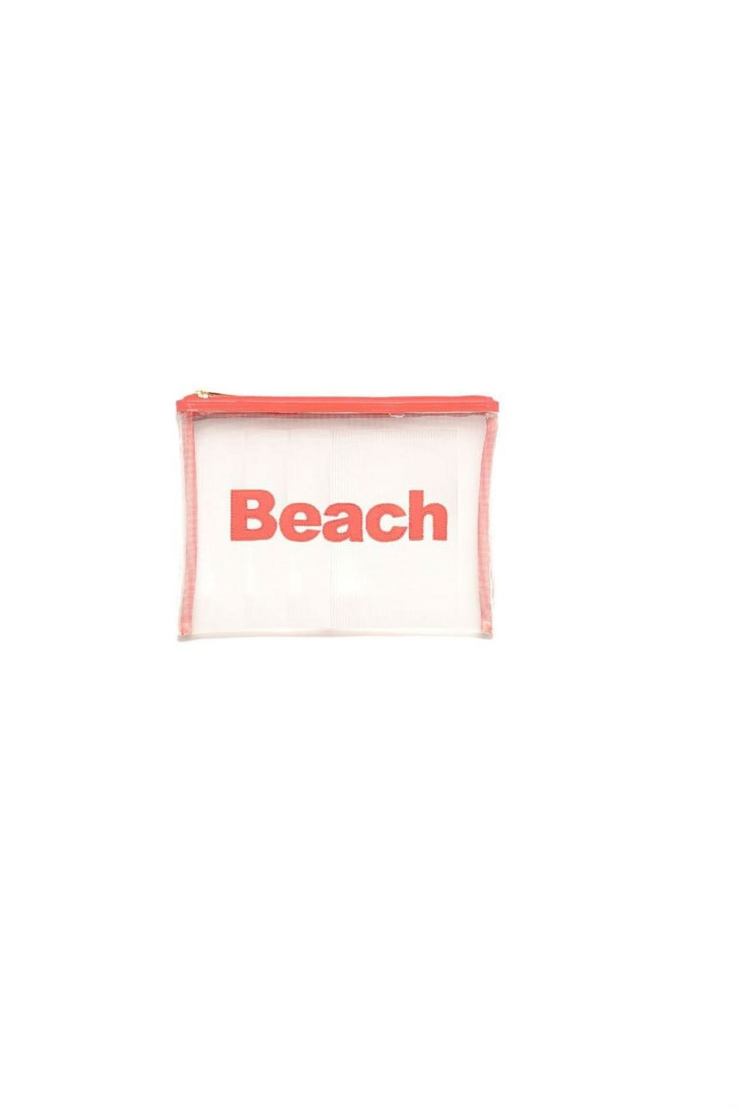 LOLO Mesh Beach Bag - Front Cropped Image