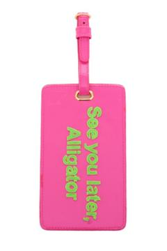 Shoptiques Product: Pink Luggage Tag