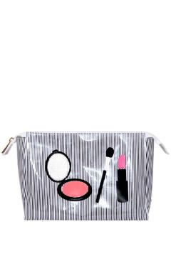 Shoptiques Product: Striped Cosmetic Case