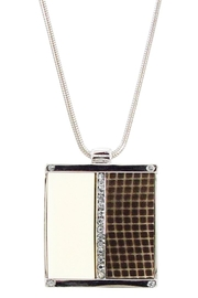 LoLo By New Dimensions Silver Necklace - Front cropped