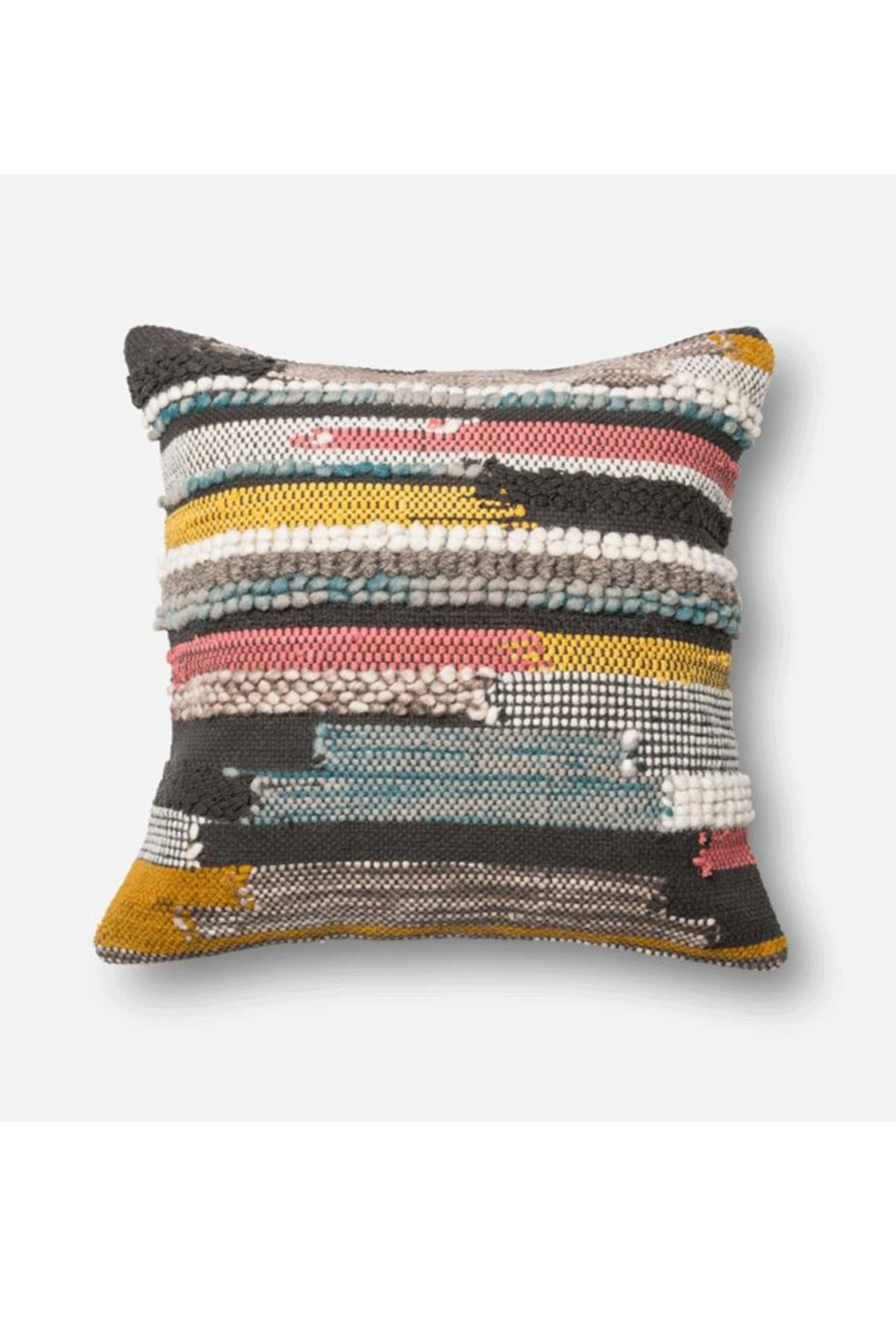 Loloi Boho Multi-Colored Pillow - Front Cropped Image