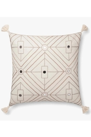 Loloi Ivory/neutral Pillow - Front cropped