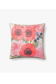 Loloi Light Floral Pillow - Product Mini Image