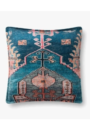 Loloi Multicolor Boho Pillow - Front cropped