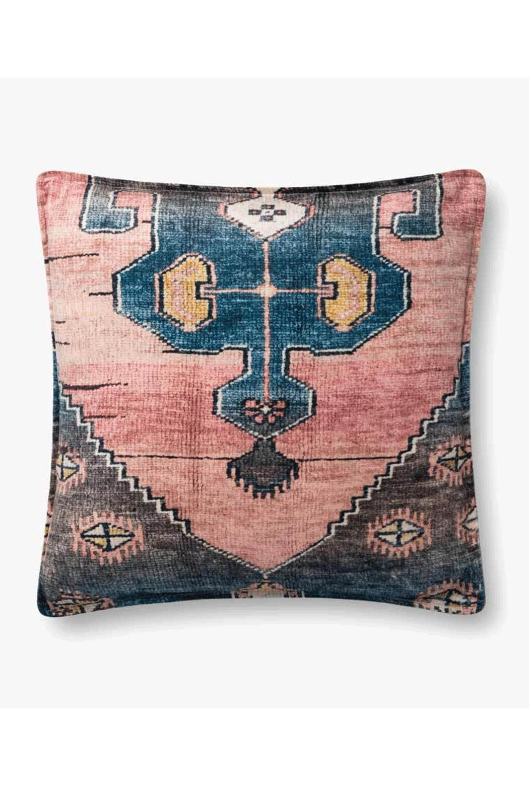 Loloi Multicolor Boho Pillow - Front Cropped Image