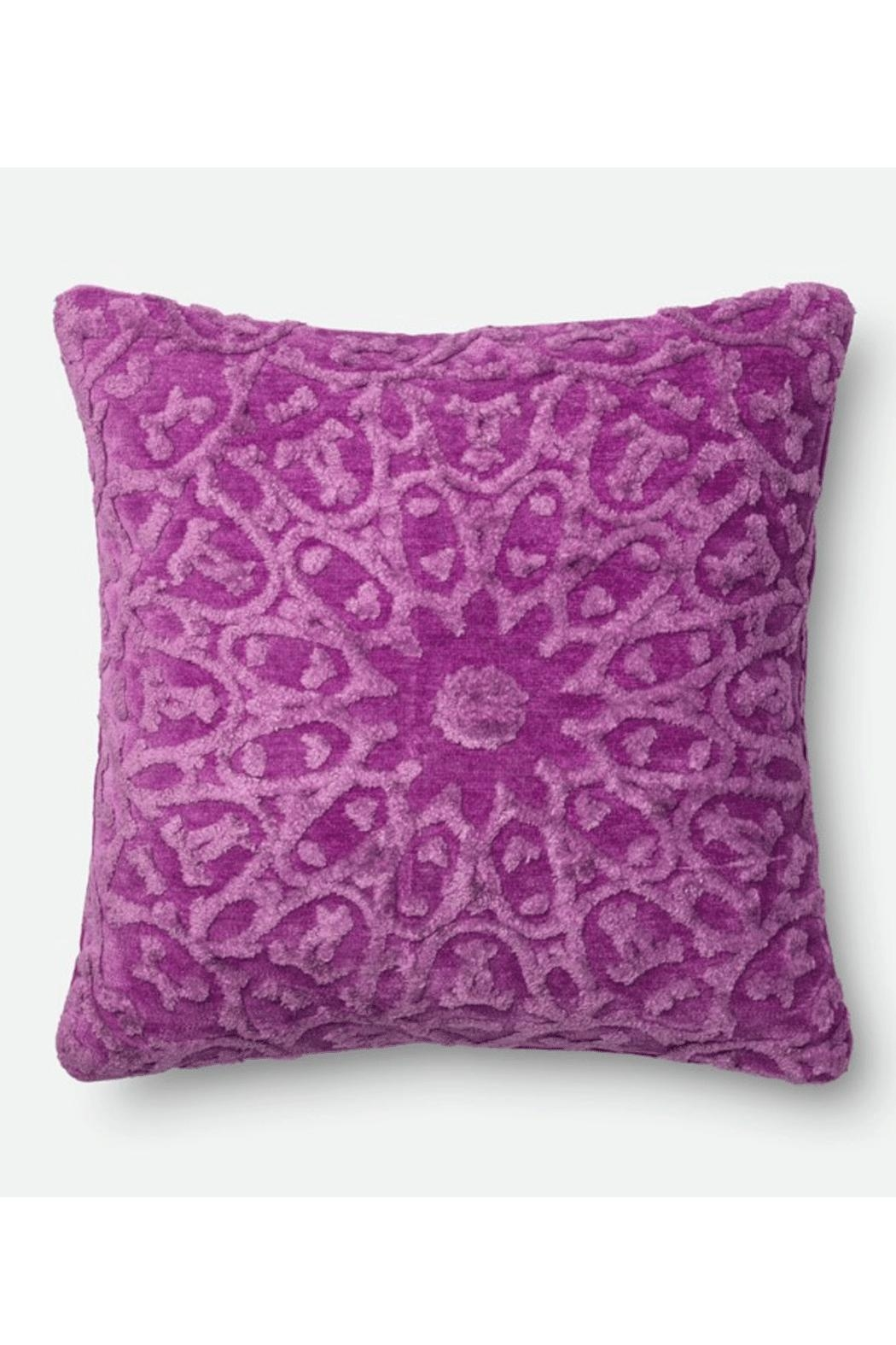 Loloi Orchid Pillow - Main Image