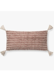 Loloi Rose Knotted Pillow - Front cropped