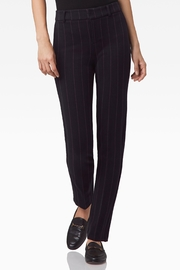 Ecru Lombard Slim Leg Trouser - Product Mini Image